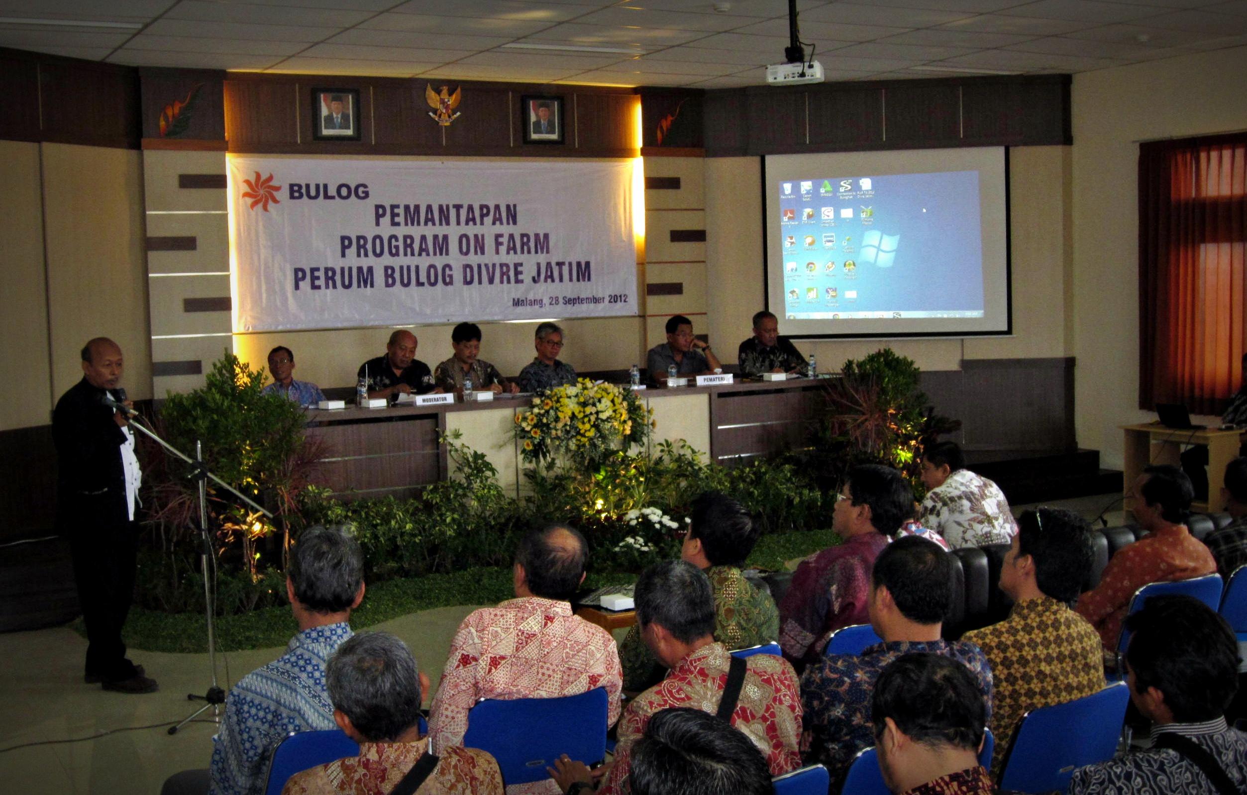 Seminar Pemantapan Program On Farm
